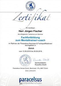 Zertifikat Mentalcoach