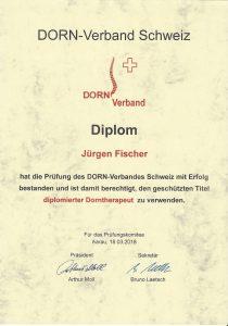 Diplom DORN Therapeut