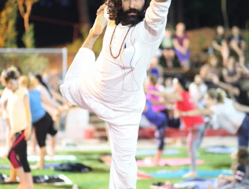 Yoga-Event in Tirana 2017