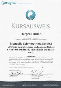 Kursausweis Manuelle Schmerztherapie 2